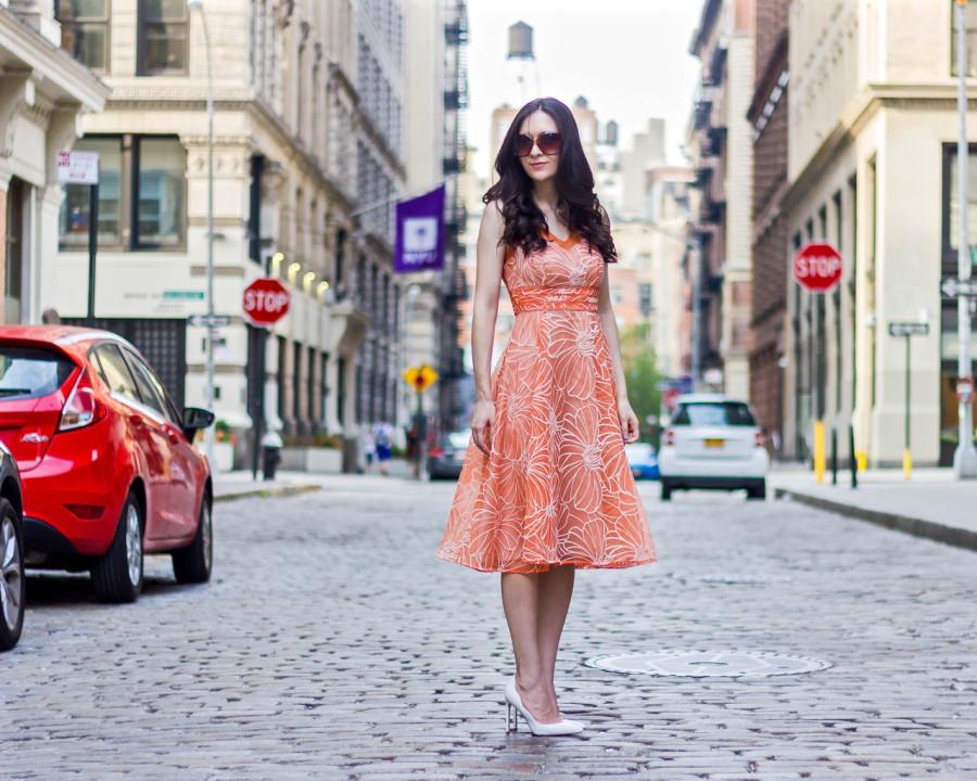 Anthropologie Calendula Dress