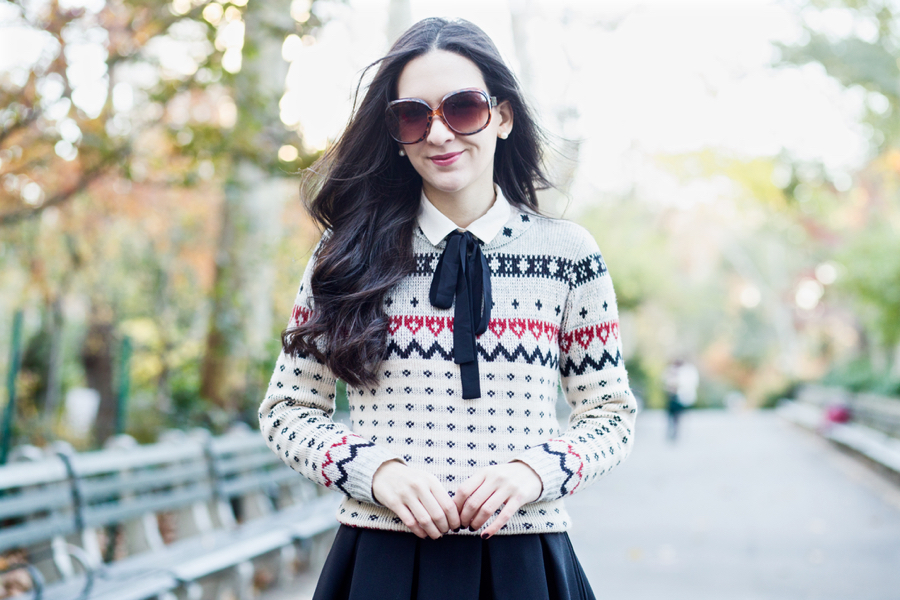 Fair Isle Season - Dressed Up Deniz