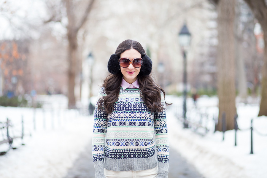 Sequin Fair Isle - Dressed Up Deniz