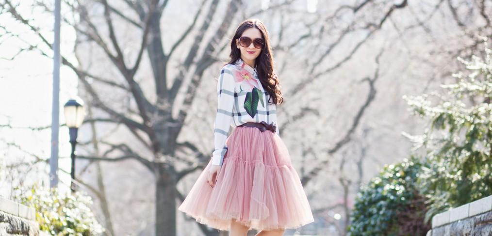 asos ted baker blouse, ted baker trellis check blouse, trellis check top, green top, ted baker 2016 spring summer, bcbg bow pump, bcbg beige pump, true decadence petite tulle skirt, true decadence tulle skirt, asos tulle skirt, mango belt, bow belt