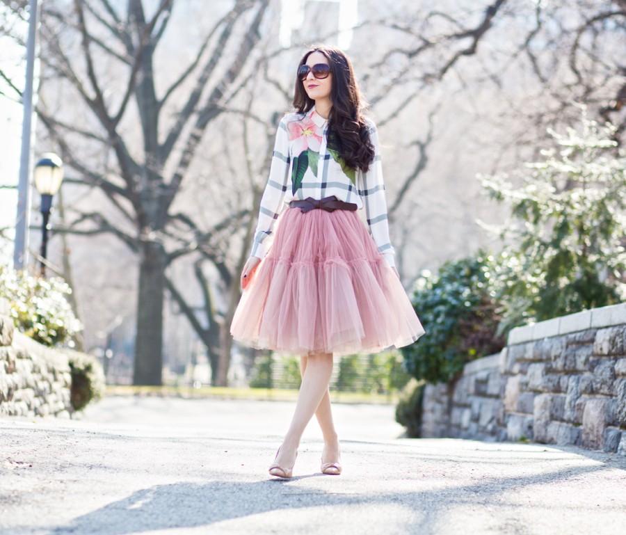asos ted baker blouse, green top, ted baker 2016 spring summer, bcbg bow pump, bcbg beige pump, true decadence petite tulle skirt, true decadence tulle skirt, asos tulle skirt, mango belt, bow belt