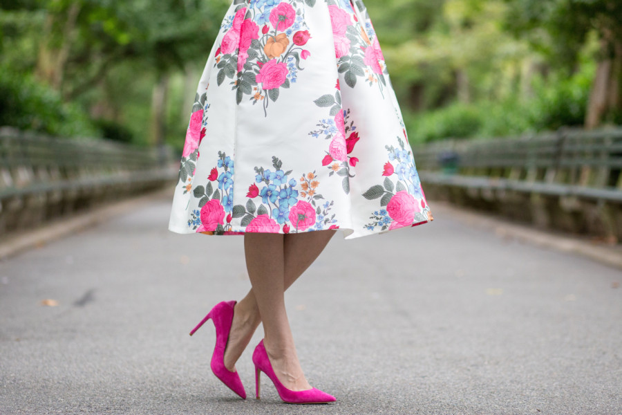 Chi Chi Floral Print Midi Dress, chi chi london, chi chi london freja dress, chi chi london pink dress, chi chi london cocktail dress, chi chi london fancy dress, chi chi london asos, sam edelman dea pump, sam edelman pump, sam edelman pink pumps